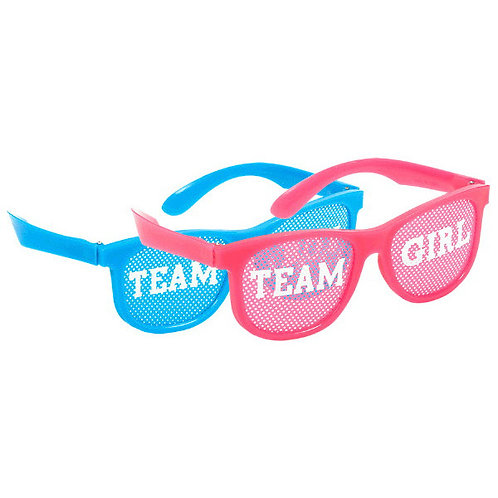 Girl or Boy? Glasses - Pink/Blue