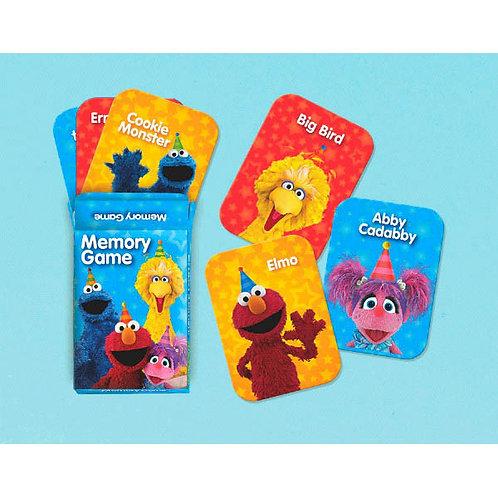 Sesame Street Memory Game Favors