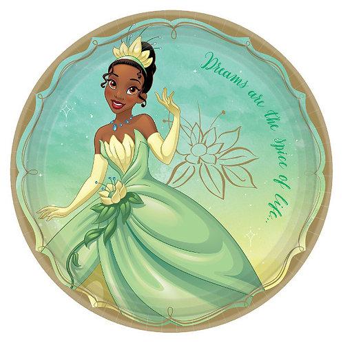 Disney Princess Lunch Plates 8ct - Tiana