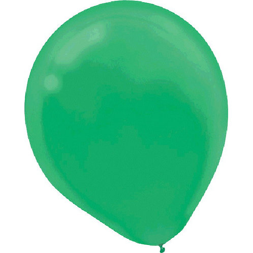 Green 9in Latex Balloons - Packaged, 20ct