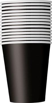 Black 9oz Paper Cups 14ct