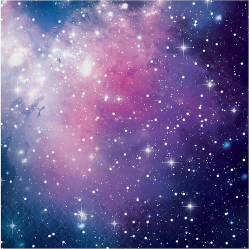 Galaxy Party Lunch Napkins 16ct
