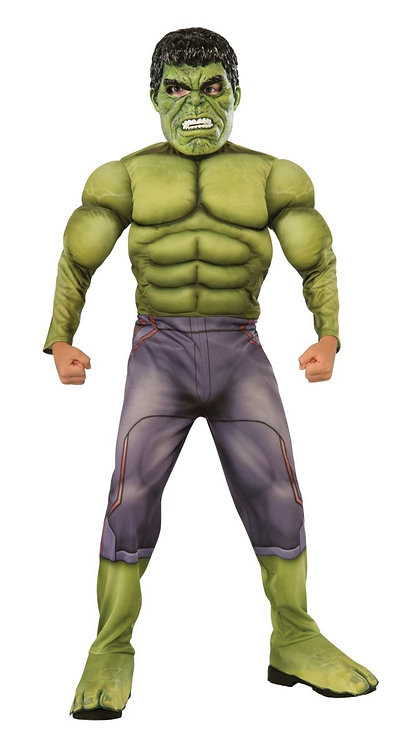 Child Hulk Deluxe Muscle Costume
