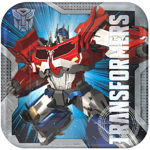 Transformers Lunch Plates 8ct