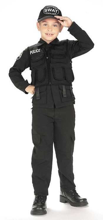 Child S.W.A.T. Police Costume