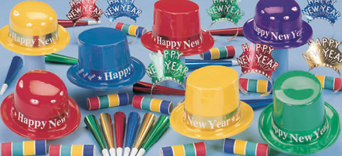 Classic Party New Years Kit for 25