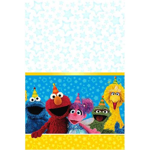 Sesame Street Plastic Table Cover