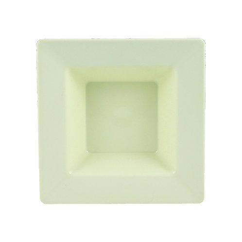 Simply Squared Ivory 12oz Plastic Bowls 10ct