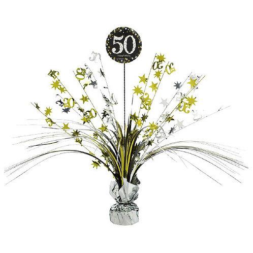 Sparkling Celebration 50 Spray Centerpiece