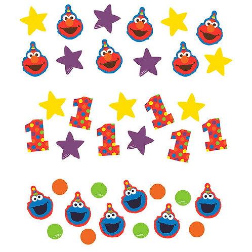 Sesame Street Elmo Turns One Value Pack Confetti