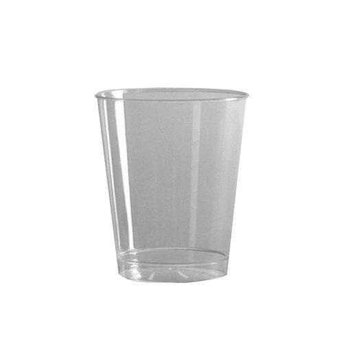 Clear 7oz Plastic Tumbler 20ct