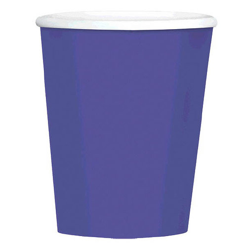 Purple 12 oz. Paper Coffee Cups 40ct