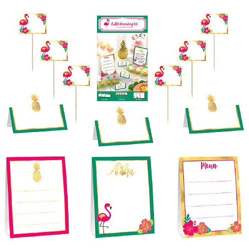 Aloha Buffet Decorating Kit