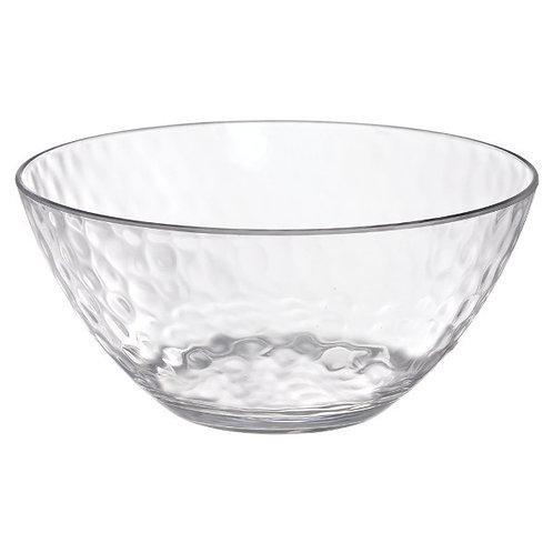 Hammered Clear Small 24oz Bowl