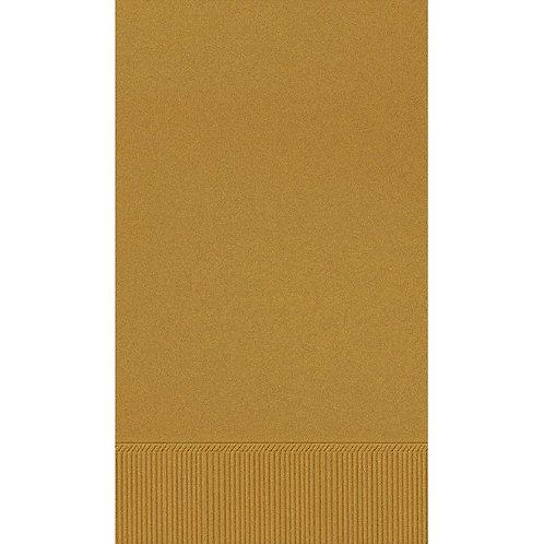 Gold Guest Towels 16ct