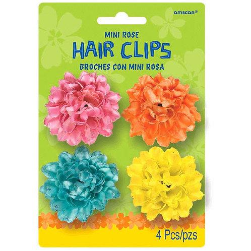 Oasis Mini Rose Hair Clips