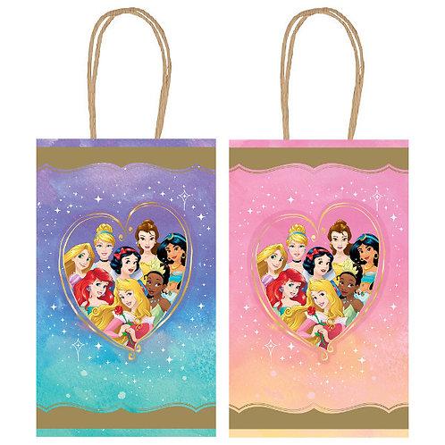 Disney Princess Hot-Stamped Kraft Bag 8ct