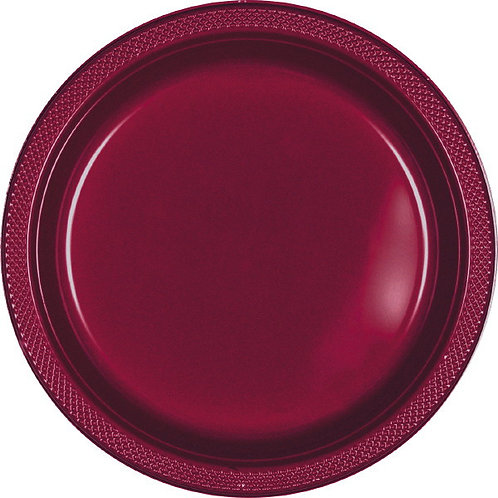 Berry 9in Plastic Plates 20ct