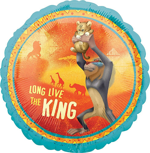#420 Lion King 18in Balloon