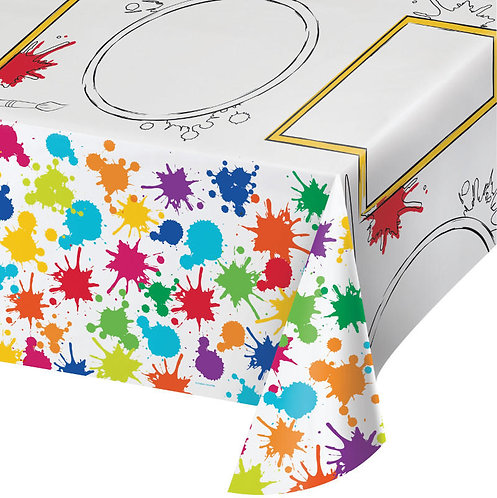 Art Party Table Cover