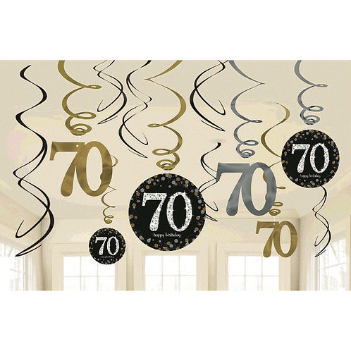 Sparkling Celebration 70 Swirls