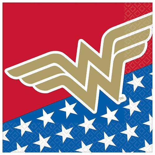 Wonder Woman Classic Lunch Napkins 16ct