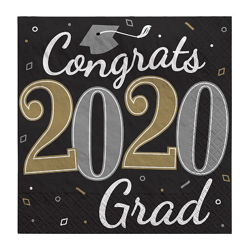 Well Done Grad Lunch Napkins 36ct