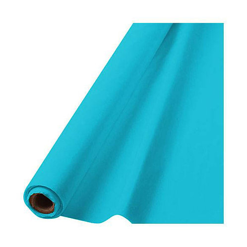 "Caribbean Blue Table Roll 40"" x 100'"