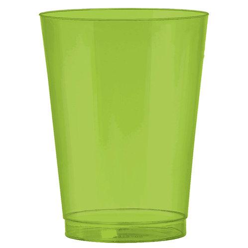 Kiwi Green 10oz Plastic Cups 72ct