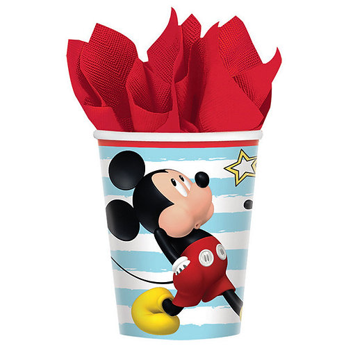 Mickey on the Go Cups 8ct