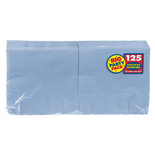 Light Blue Lunch Napkins 125ct
