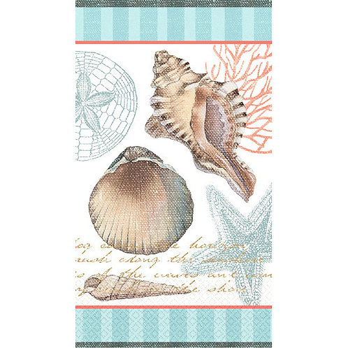 By the Sea Guest Towels 16ct