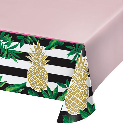 Gold Pineapple Table Cover