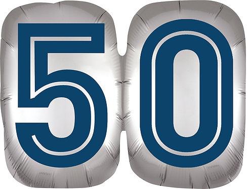 Happy Birthday Man 50 - 25in Balloon