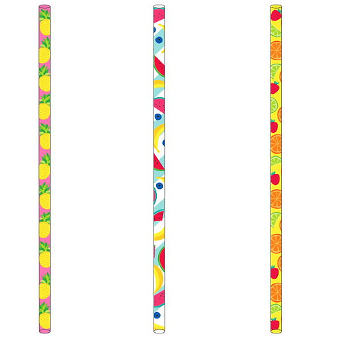 Fruit Paper Straws