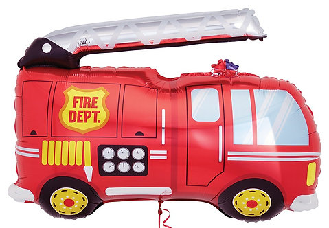 #241 Fire Truck 40in Balloon