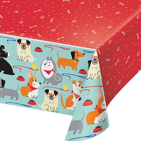 Dog Party Table Cover