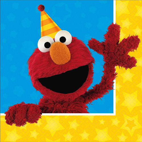 Sesame Street Lunch Napkins 16ct