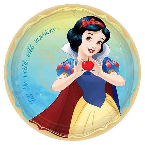 Disney Princess Lunch Plates 8ct - Snow White