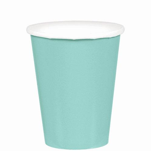 Robins Egg Blue 9oz Paper Cups 20ct