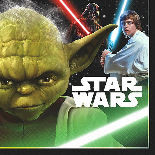 Star Wars Classic Lunch Napkins 16ct