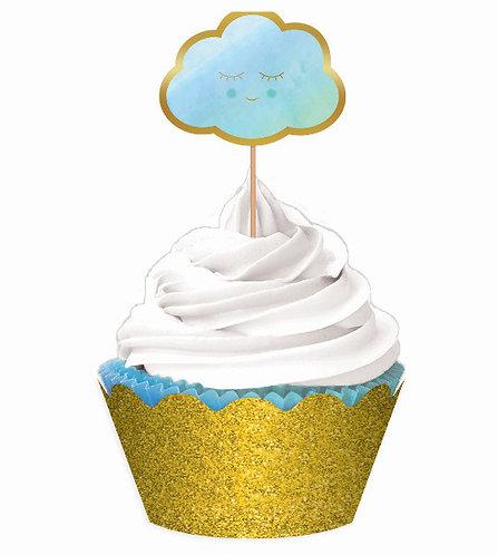 Oh Baby Boy Cupcake Kit