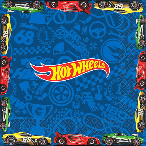 Hot Wheels Wild Racer Lunch Napkins 16ct