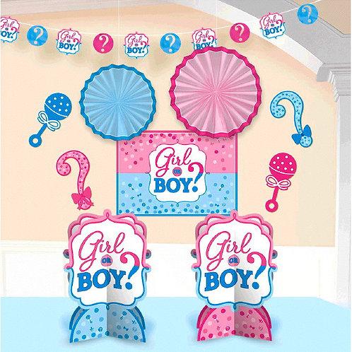 Girl or Boy? Room Decorating Kit