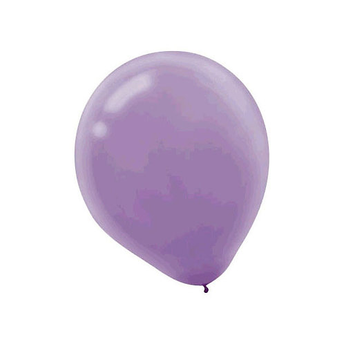 Lavender Latex Balloons - Packaged, 15ct