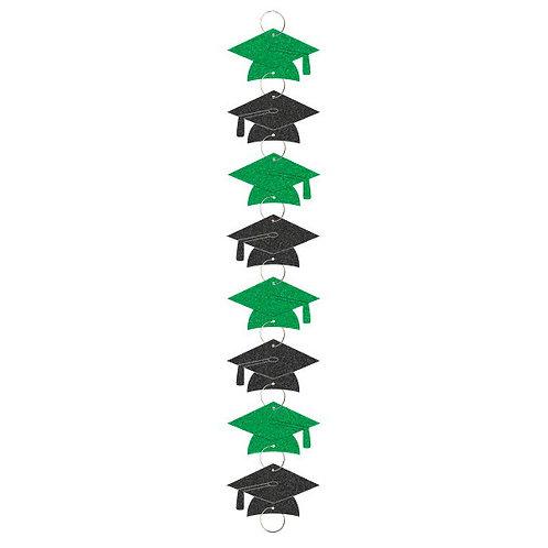 Graduation Ring Garland - Green