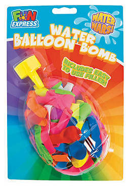 Latex Water Balloons With Filler 125ct