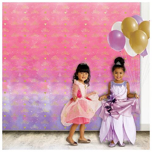 Disney Princess Photo Backdrop
