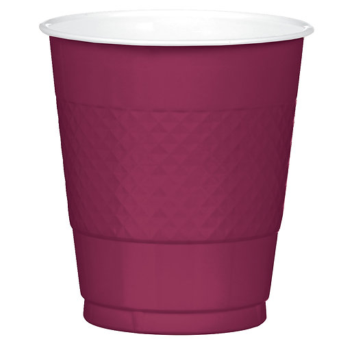 Berry 12oz Plastic Cups 20ct