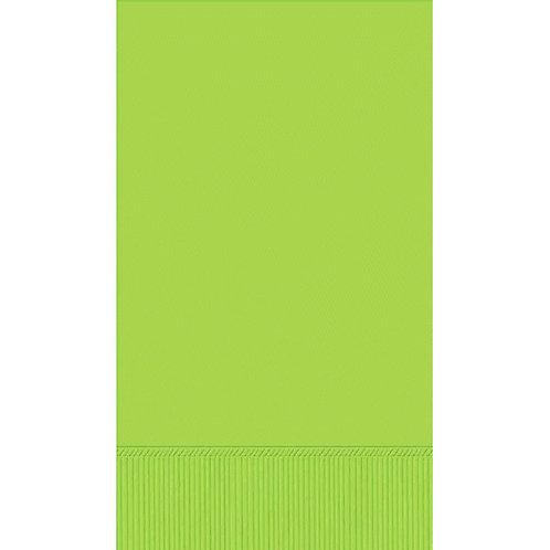 Kiwi Green Guest Towels 16ct